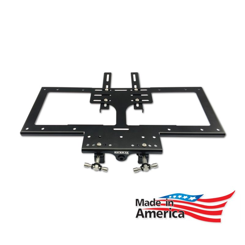 UNIVERSAL RickRak for Aftermarket Two-Up Luggage Rack